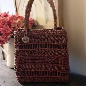 THE SAK-Small Basket Handbag. Great Condition